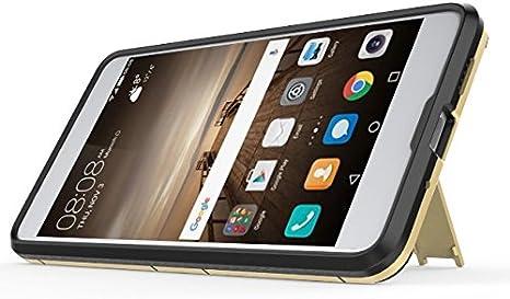 Gray Huawei Mate 10 Pro Funda CHcase 2in1 Armadura Combinaci/ón A Prueba de Choques Heavy Duty Escudo C/áscara Dura PC Suave TPU Silicona Rubber Case Cover con soporte para Huawei Mate 10 Pro