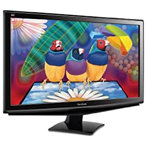 Viewsonic's VA2448M-LED 24-Inch Widescreen LED Monitor - Black