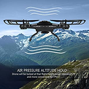 Drone with HD Camera, Potensic F183DH Drone RC Quadcopter RTF Altitude Hold UFO with est Hover Function from Potensic