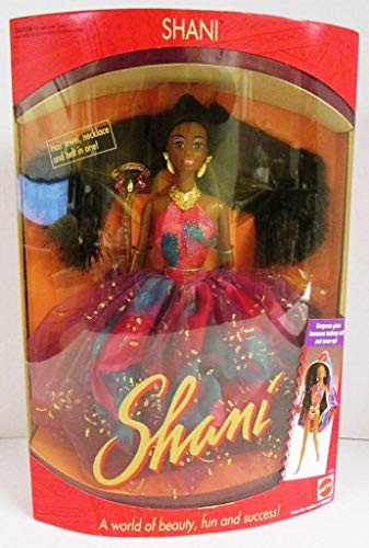 Barbie SHANI Doll AA - The Marvelous World of Shani & Her Friends! (1991)