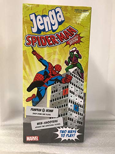 Spider-Man Jenga! Collectors Edition! Fun Family Game, Marvel Themed!