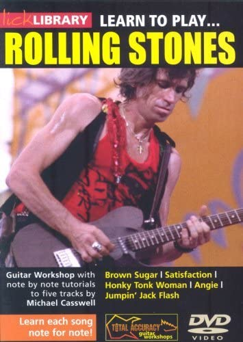Lick Library: Learn To Play The Rolling Stones. Para Guitarra ...
