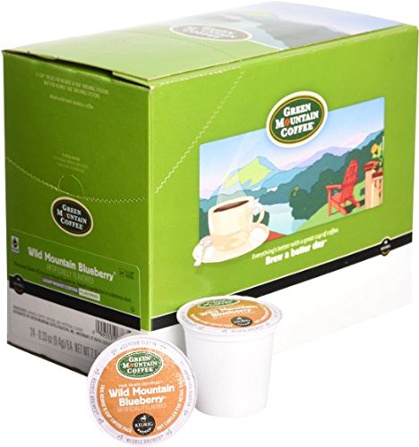 Green Mountain Coffee, Wild Mountain Blueberry K-Cup Portion Pack for Keurig Brewers, 96 Count (4 Boxes of 24) by Green Mountain Coffee