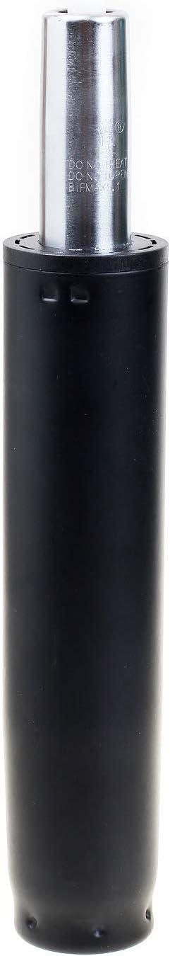 TUKA Muelle de Gas para Silla de Oficina y Taburete, 165mm Cilindro, 225-310mm Longitud Total, Repuesto Cilindro Elevador de Gas, Resorte Amortiguador de Gas, Negro, TKD5201-85