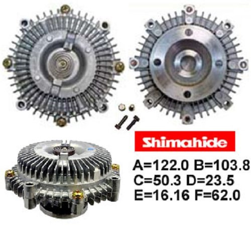 SHIMAHIDE FAN CLUTCH for '81-'95 TOYOTA PICKUP 4RUNNER CORONA CELICA 2.4L 20R/22R 16210-38050