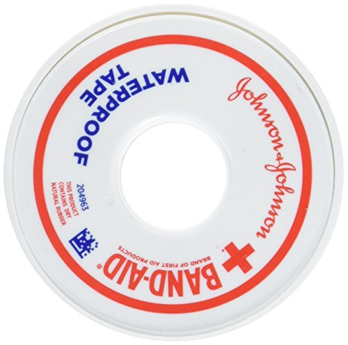 Bandaid First Aid 1/2 in X 10 yd Waterproof Tape 1 ct (Aid Tape First Adhesive)