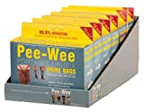 Cleanwaste Pee-Wee Unisex Urine Bags - 6 12 Packs