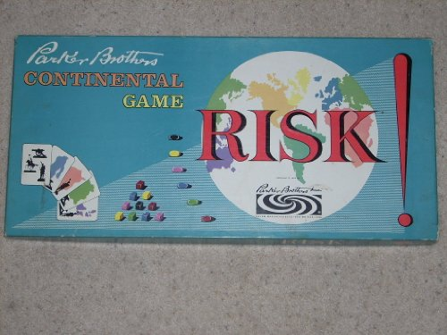Original Vintage Risk Board Game 1959