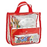 Faber Castell Young Artist Learn to Paint Set - Washable Paint Set for Kids