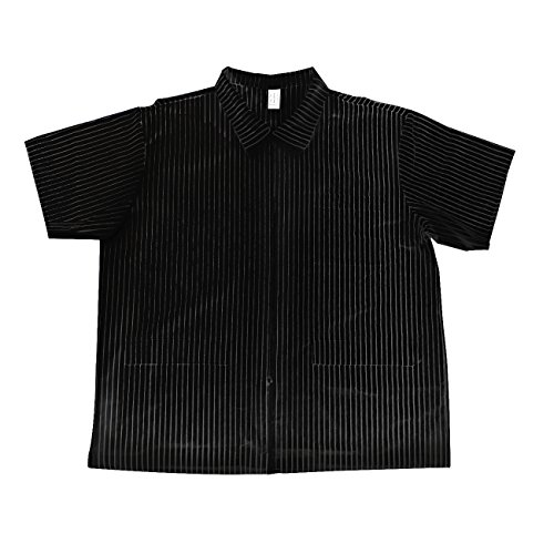 Betty Dain Signature MVP Barber Jacket, Black with White