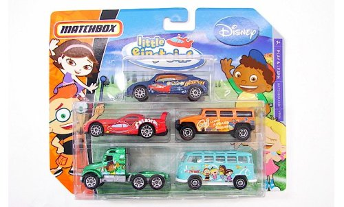 Matchbox Disney 5 Pack Diecast Cars - Little Einsteins