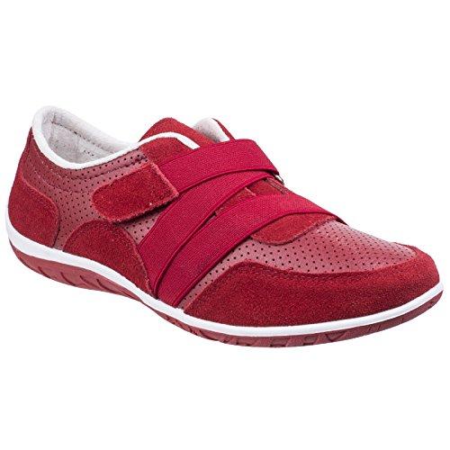 Foster Womens Shoes Comfort Fleet Bellini Red amp; Ladies w1Eq8