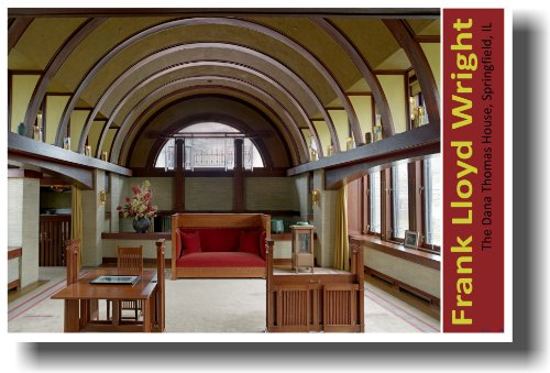 Frank Lloyd Wright House Springfield Illinois - Dana Thomas House - NEW World Travel (Architect Thomas House)
