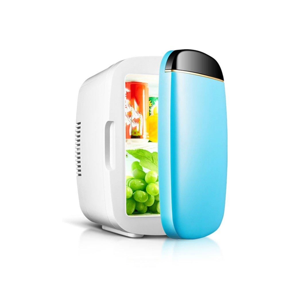 Car Refrigerators YXGH@ 6L 12V DC 220V AC Refrigeration Heating Mini Fridge Small Home Micro Refrigerator Car Dual-use Refrigerator Dimensions: 312519cm Internal Dimensions: 241415cm Automotive Acc
