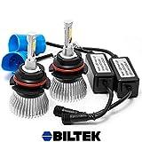 Biltek� LED Low Beam Conversion Bulbs for 2005-2012 Nissan Pathfinder (9007 (High/Low Beam) Bulbs)