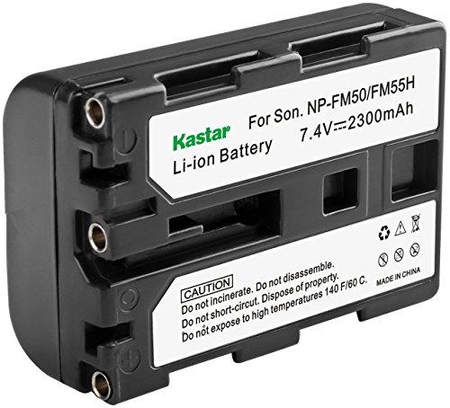 Kastar Lithium Battery NP-FM50 for Sony Cybershot DSC-F707 S30 S50 S70 S75 S85, Mavica MVC-CD200 CD250 CD300 CD400, Camcorder TRV11 TRV50 TRV340 TRV530 TRV730 TRV828 TRV840 TR648 PC5 PC100 PC110 PC120