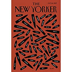 The New Yorker, October 16th 2017 (Alexandra Schwartz, Joshua Yaffa, Jill Lepore)