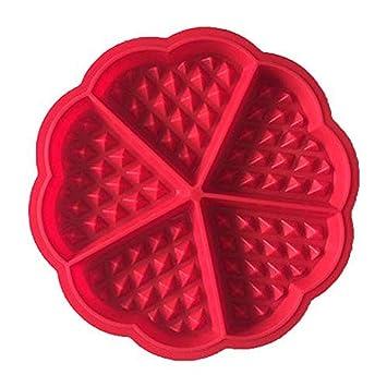 Moldes de silicona en forma de corazón para horno, horno, utensilios de cocina de