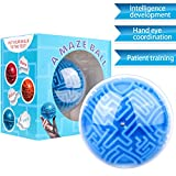 #9: KeNeer Maze Ball Mini 3D Magic Puzzle Intelligence & Idea Maze Game Toys - Hard Challenging Labyrinth Gifts for kids and Adults