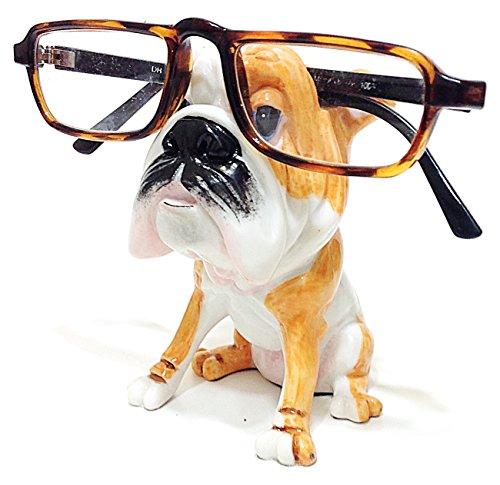 English Bulldog Dog Breed Novelty Eyeglass Holder Stand by Distinctive Designs