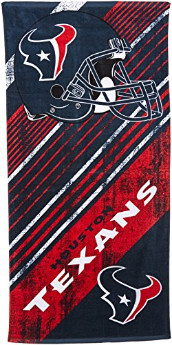 The Northwest Company NFL Houston Texans Beach Towel, 28-inch by 58-inch