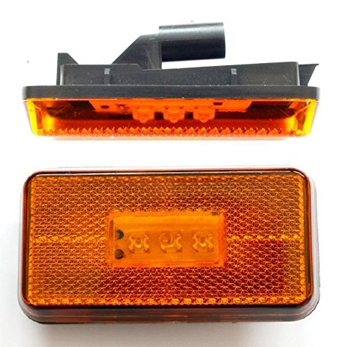 a LED OEM 1737413 Luci di posizione laterali confezione da 2 color ambra