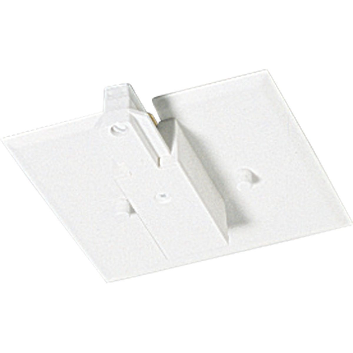 Progress Lighting P8745-28 End Feed with Flush Canopy, Bright White