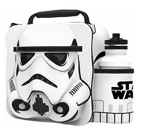 - STORM TROOPER Kids Children 3D Lunch Box Bag With Sport Water Bottle