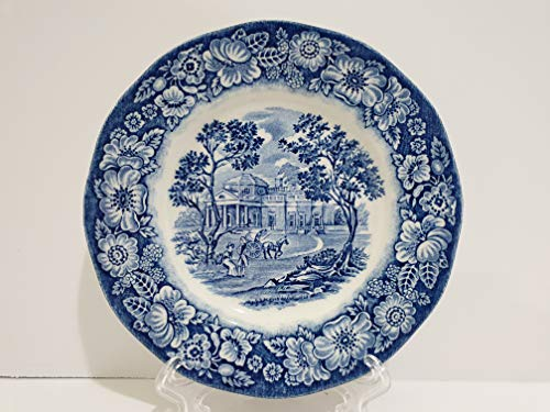Staffordshire Liberty Blue Monticello Bread & Butter Plate - Set of 4 ()