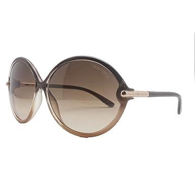 39b593906e Tom Ford Women s 0225 Rita Gradient Brown Frame Gradient Brown Lens ...