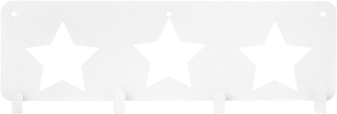 Manteau X Blanc 30 Métal Porte 10 Étoile 1 Cm 4 Hema mN8POyvn0w