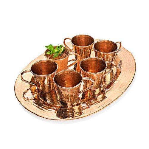 Sertodo Copper OP-6-2014 Moscow Mule Small Set, 12 oz. , Copper