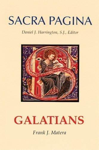 Galatians (Sacra Pagina Series)volume 9 by Frank J. Matera (1992-08-01)