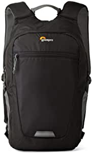 Lowepro Photo Hatchback Bp 150 AW II, Backpack for Mirrorless Or Compact DSLR Cameras Plus Tablet That Lets You Easily Convert to A Standard Daypack, Black/Grey, 16 L, (LP36955-PWW)