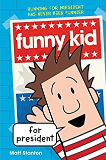 Book Cover: Funny Kid for President