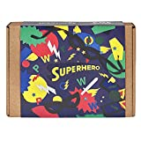 JackInTheBox Superhero 2-In-1 Craft Kit For Boys: Gift For 5 Years And Up: Contains A Superhero Mask, And Cuffs