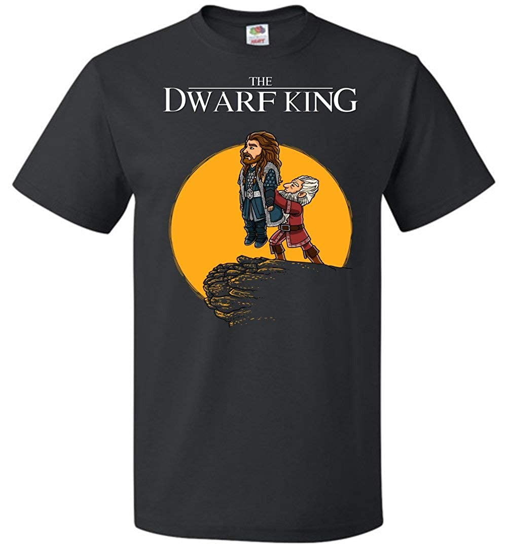 The Dwarf King Unisex T-Shirt Adult Pop Culture Graphic Tee Nerdy Geeky Apparel