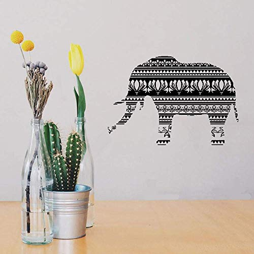 Vinyl Removable Wall Stickers Mural Decal Elephant Animal Africa Ornament Mural 22 x 32 inches