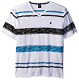 Zoo York Men's Short Sleeve Stripe Tee, Maden