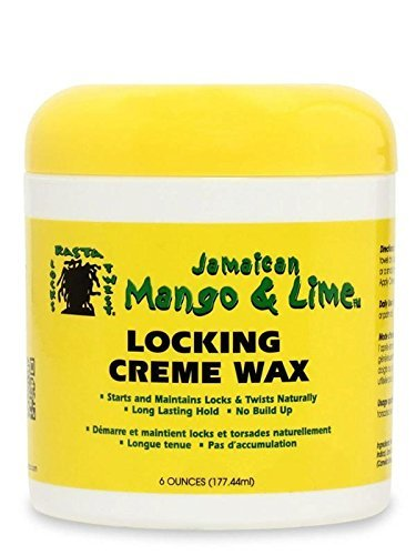 Jamaican Mango & Lime Rasta Locks & Twist Locking Creme Wax 6 Oz