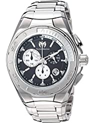 Technomarine Mens Manta Swiss Quartz Stainless Steel Casual Watch, Color:Silver-Toned (Model: TM-215037)