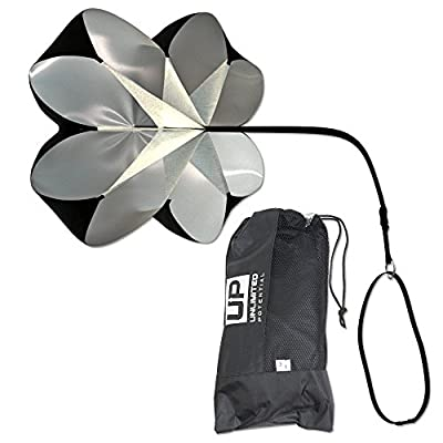 Unlimited Potential Speed Chute – Resistance Parachute - Training Parachute – Speed Chutes – Running Parachutes For Football Or Soccer with Free Carry Bag