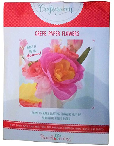 Amazon hazel and ruby crafternoon crepe paper flowers craft hazel and ruby crafternoon crepe paper flowers craft project mightylinksfo
