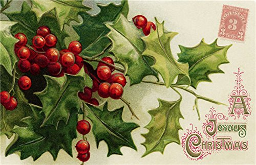 Christmas Placemats Paper Placemats Christmas Table Decorations Table Decor Pk 50 Holly ()