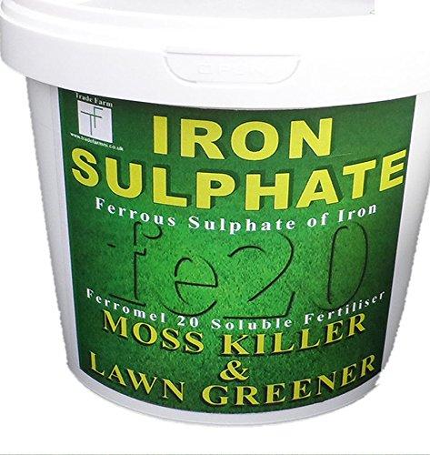 eisen sulfat 1kg tube rasen tonic sulfat von eisen rasen. Black Bedroom Furniture Sets. Home Design Ideas