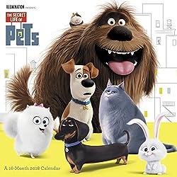 2018 The Secret Life of Pets Wall Calendar (Day Dream)