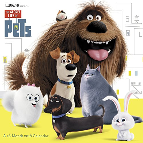 Pet Calendar - 2018 The Secret Life of Pets Wall Calendar (Day Dream)