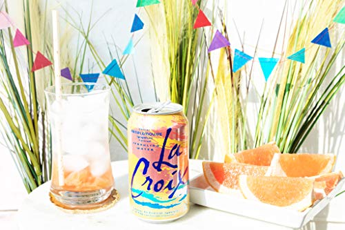 LaCroix Sparkling Water, Lemon, Lime, & Grapefruit Variety Pack, 12oz Cans, 24 Pack, Naturally Essenced, 0 Calories, 0 Sweeteners, 0 Sodium by Shasta Beverages, Inc (Pantry) (Image #9)