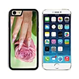 Apple iPhone 6 6S Aluminum Case Finger with long acrylic fingernail and beautiful manicure touch a wet rose Over IMAGE 10046187 by MSD Customized Premium Deluxe Pu Leather generation Accessories HD Wi offers