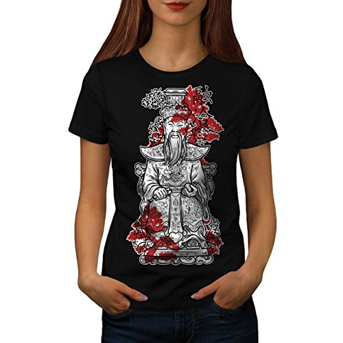 Master Chinese God Empire Lead Women M T-shirt | Wellcoda